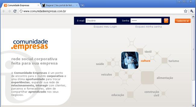 www.comunidadeempresas.com.br