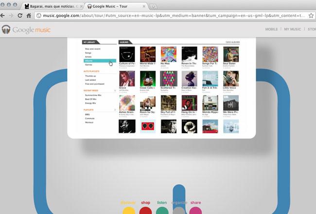Tour do Google Music (reprodução)
