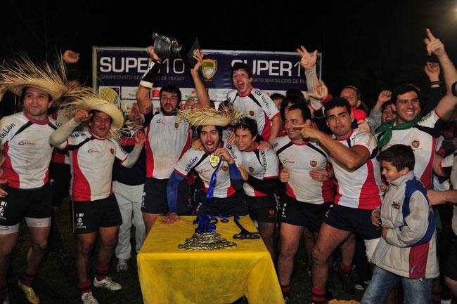Final do Brasileiro de Rugby no SporTV teve excelente média de audiência