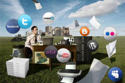 Empresas x Redes Sociais (foto: divulgação)