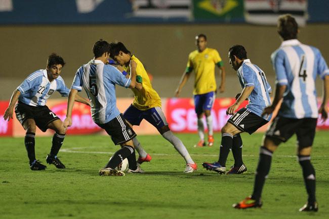 Brasil x Argentina (foto: MOWA PRES)
