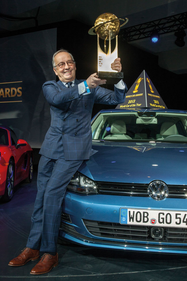 "Novo Golf é o ""Carro do Ano Mundial de 2013″"