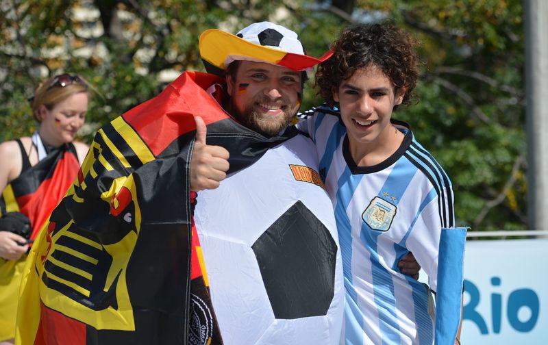Alemanha x Argentina (Marcello Casal Jr/Agência Brasil)