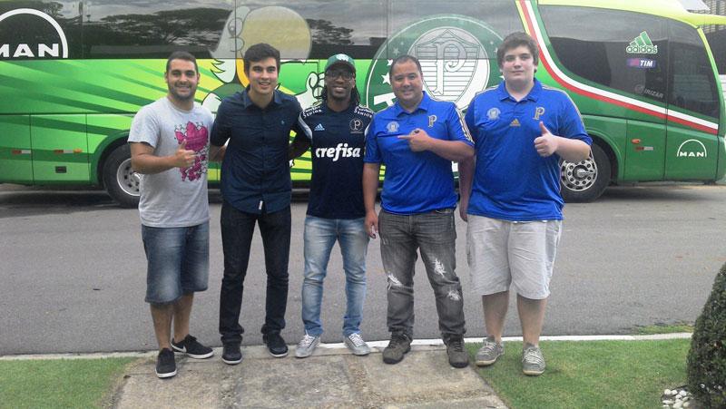 Arouca conversa com sócios-torcedores do Palmeiras