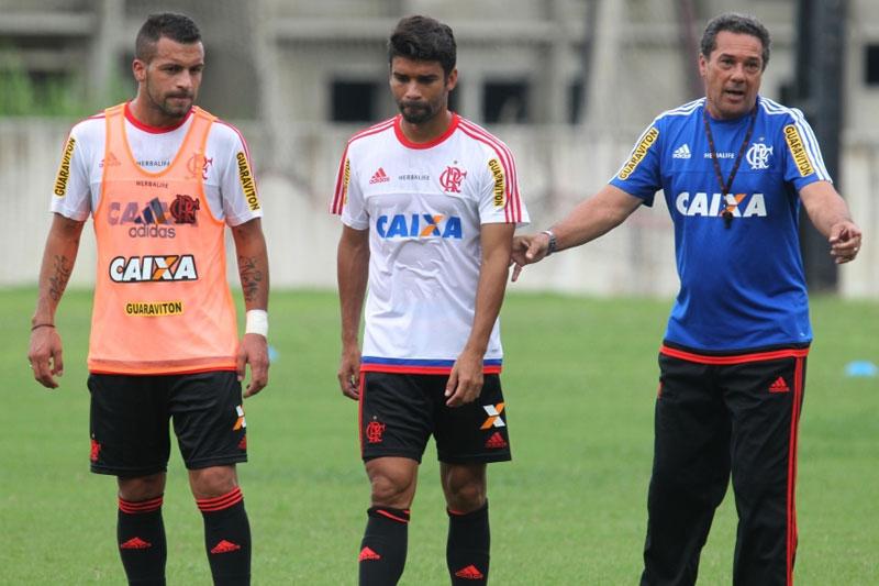 Flamengo se prepara para jogo na Copa do Brasil 2015