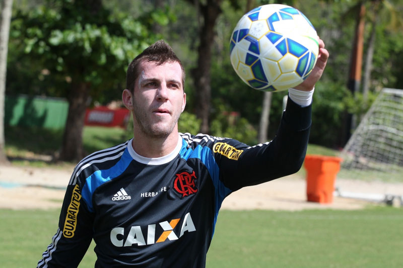 Copa do Brasil 2015: Paulo Victor completará 100 jogos pelo Flamengo