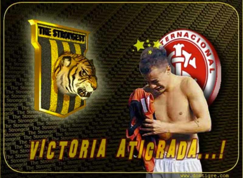 The Strongest vence o Inter na Libertadores e posta D'Alessandro chorando