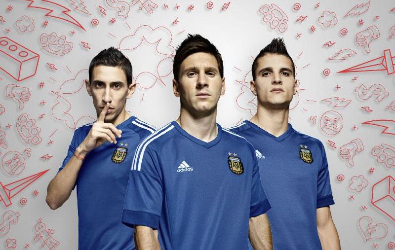 Copa América 2015: Conheça a nova camisa da Argentina