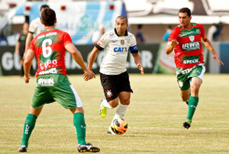 Resultado do jogo: Corinthians ganha da Portuguesa pelo Campeonato Paulista 2015