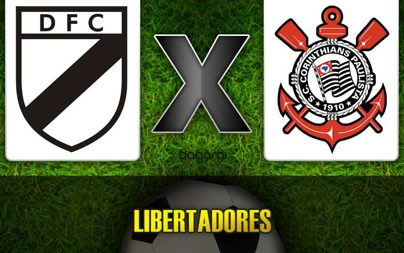 Resultado do jogo: Corinthians vence Danubio pela Libertadores 2015
