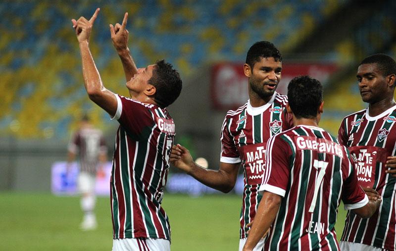 Campeonato Carioca 2015: Fluminense ganha do Cabofriense por 3 a 0