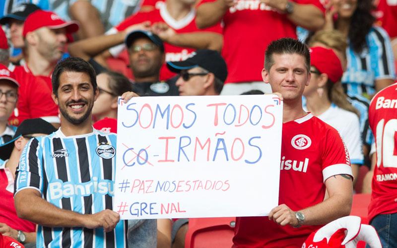 GreNal: Internacional e Grêmio fazem jogo pacífico com empate pelo Campeonato Gaúcho 2015