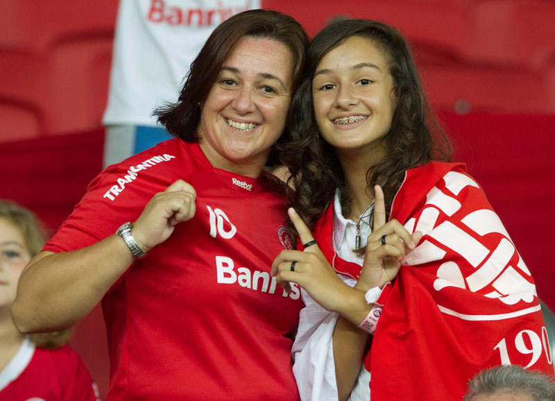 Resultado do jogo: Internacional empata com Emelec pela Libertadores 2015