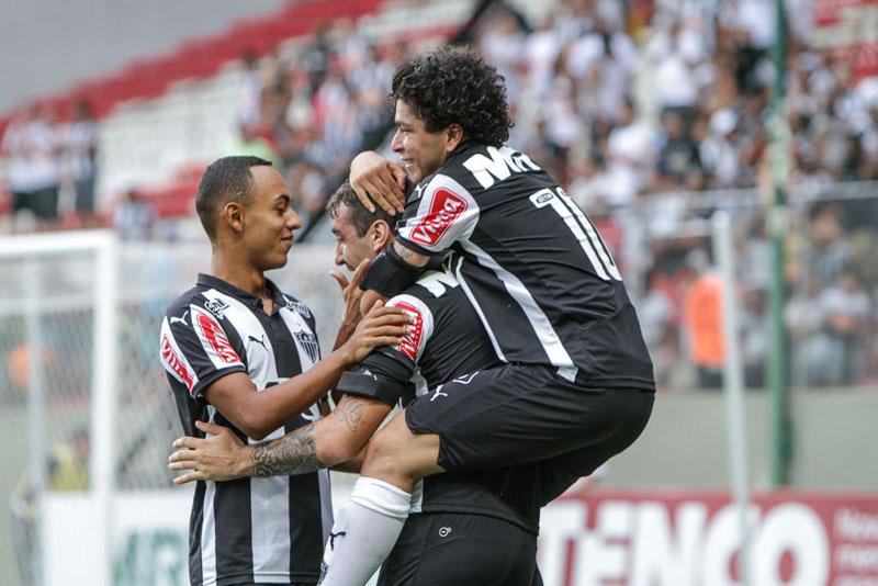 Campeonato Mineiro 2015: Jogo Atlético Mineiro e URT termina em goleada do Galo
