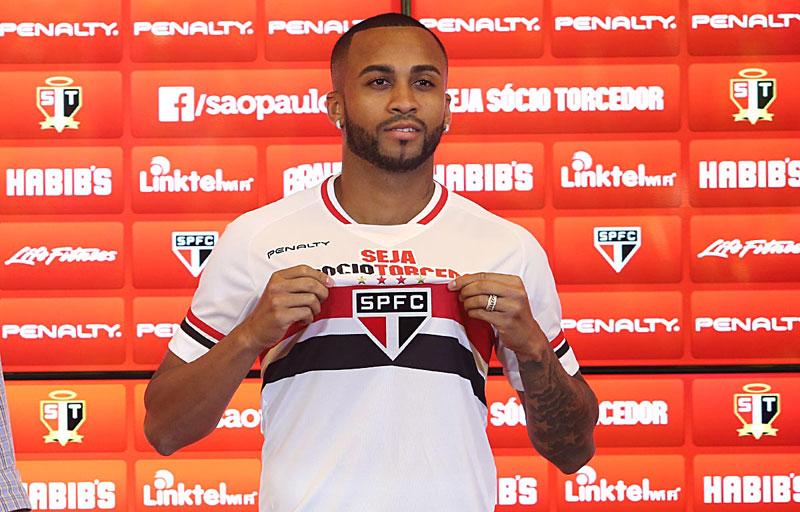 Wesley chega ao São Paulo FC