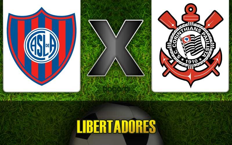 Corinthians e San Lorenzo se enfrentam pela Libertadores