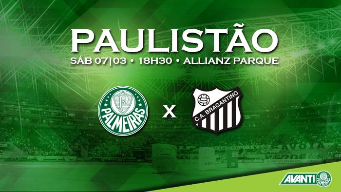 Resultado do Jogo: Palmeiras ganha do Bragantino no Brasileirão 2015