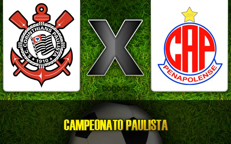 Corinthians vence Penapolense pelo Campeonato Paulista 2015, resultado do jogo