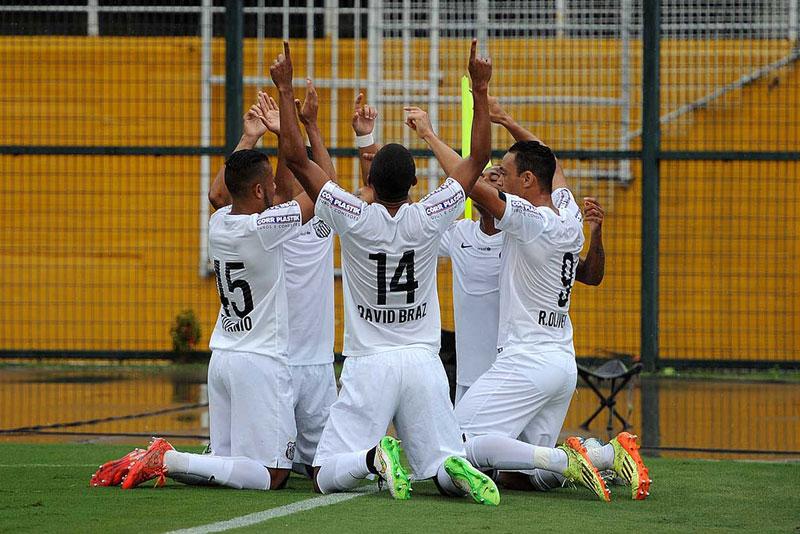 Campeonato Paulista 2015: Santos FC ganha do Audax