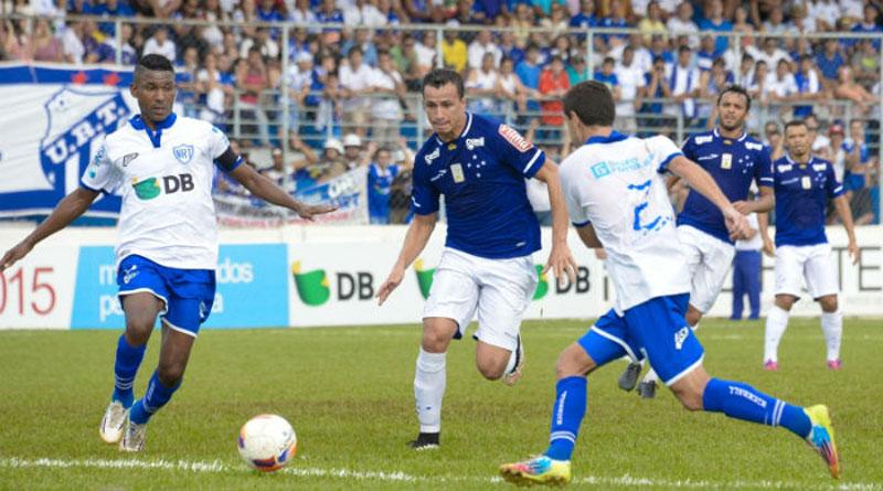 Cruzeiro vence URT com gols de Marquinhos e Joel no Campeonato Mineiro 2015