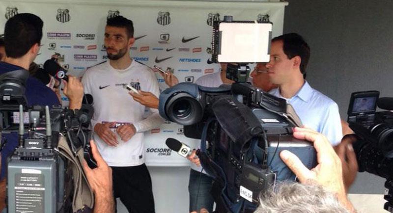 Copa do Brasil 2015: Vanderlei está empolgado pelo Santos FC