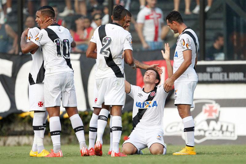 Vasco goleia Nova Iguaçu pelo Campeonato Carioca 2015, resultado do jogo