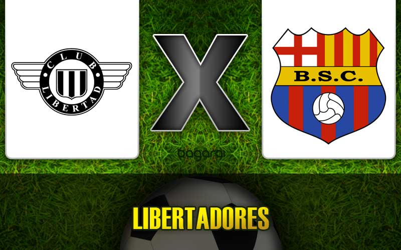 Libertad empata com Barcelona pela Libertadores 2015