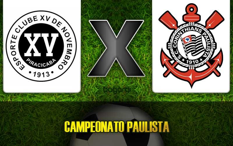Resultado do jogo: XV de Piracicaba e Corinthians empatam pelo Paulistão 2015