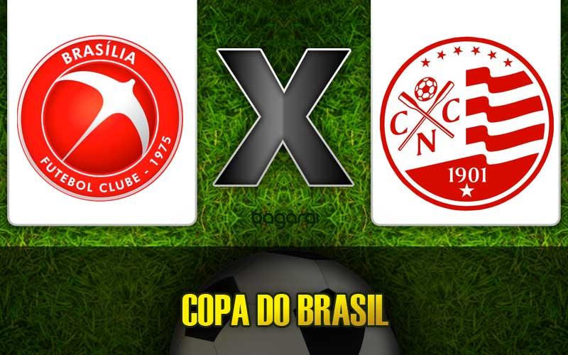 Náutico ganha do Brasília FC pela Copa do Brasil 2015