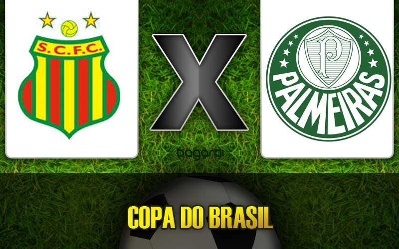 Palmeiras e Sampaio Corrêa empatam em jogo pela Copra do Brasil 2015, Resultado do jogo de hoje