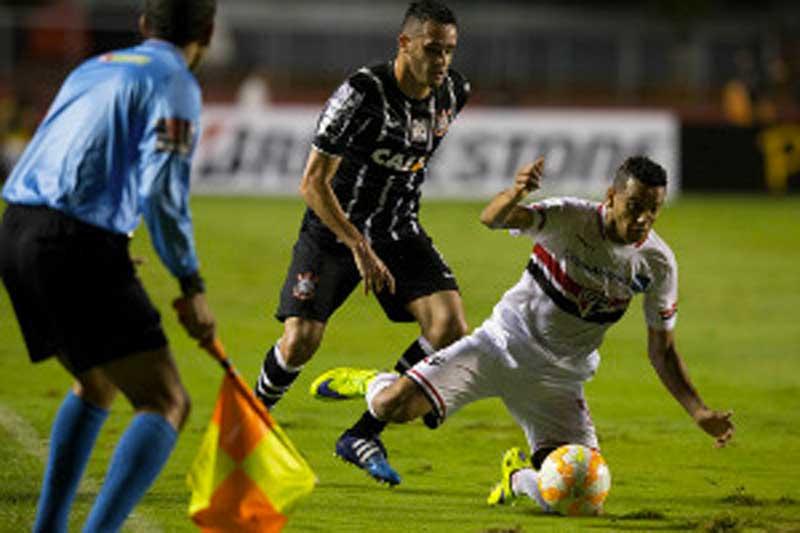 São Jorge: com derrota para o São Paulo FC, Corinthians tem jogo com Guarani do Paraguai pela Libertadores 2015