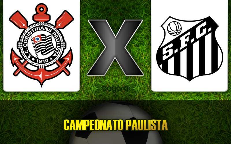 Paulistão 2015: Corinthians e Santos empatam em 1 a 1