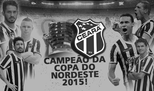 Ceará é Campeão da Copa do Nordeste 2015