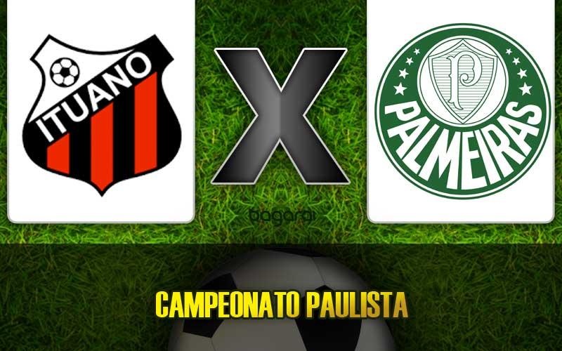 Ituano e Palmeiras empatam em jogo pelo Paulistão 2015