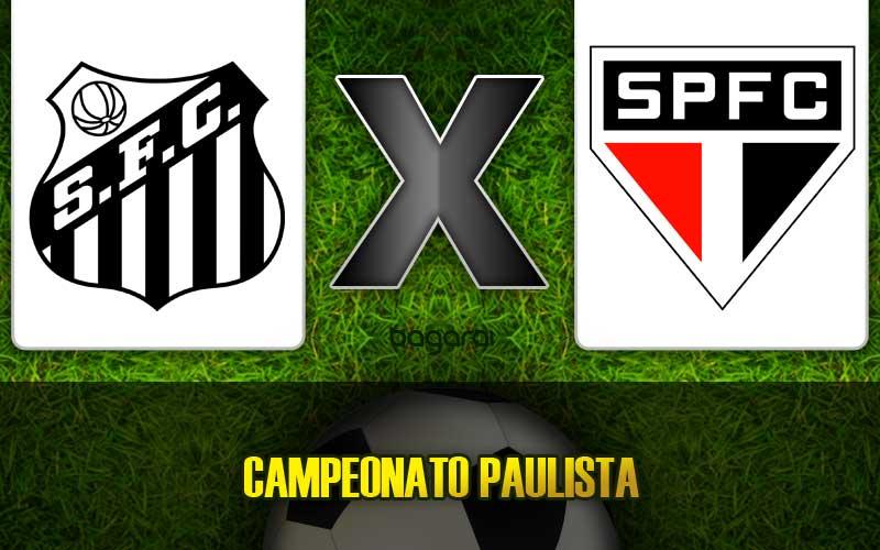 Santos FC vence São Paulo pelo Campeonato Paulista 2015, resultado do jogo de hoje