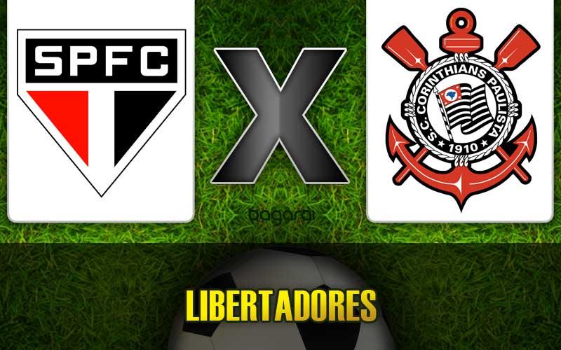São Paulo FC vence Corinthians pela Libertadores 2015, Resultado do jogo hoje