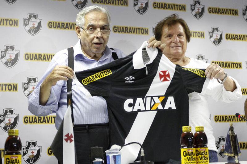 Veja a nova camisa do Vasco com novo patrocínio