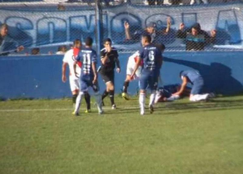 Jogador Emanuel Ortega morreu após acidente em campo, veja o vídeo