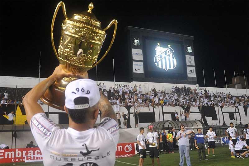 Santos Campeão 2015 (Foto: Ivan Storti/Santos FC)