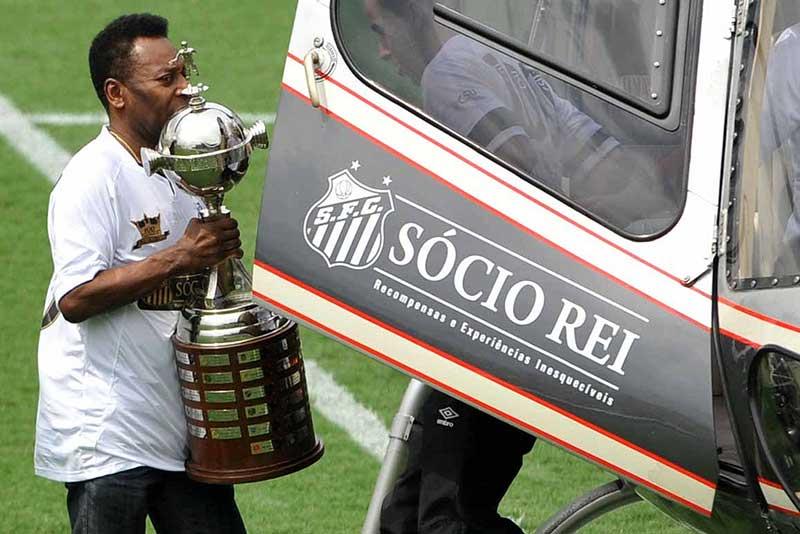 SantosPele (Foto: Ivan Storti / Divulgação Santos FC)