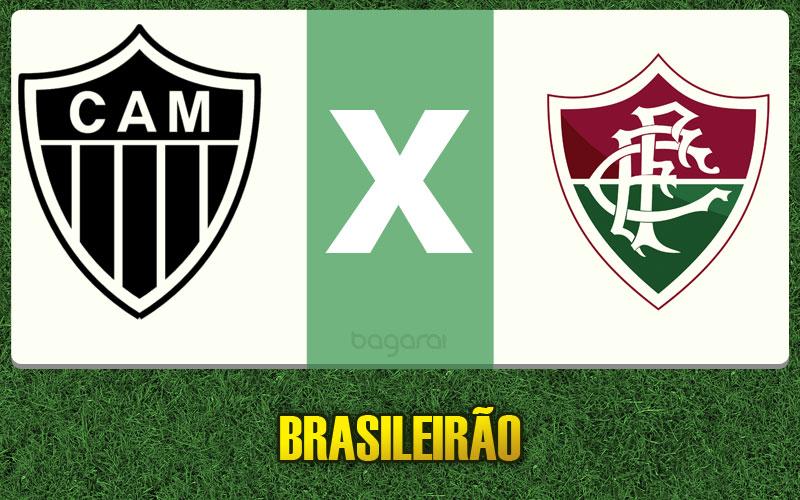 Atlético Mineiro goleia Fluminense pelo Brasileirão 2015, resultado do jogo de hoje