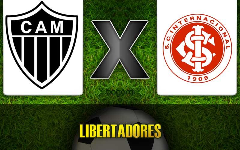 Resultado do jogo de hoje: Atlético Mineiro e Internacional pela Libertadores 2015