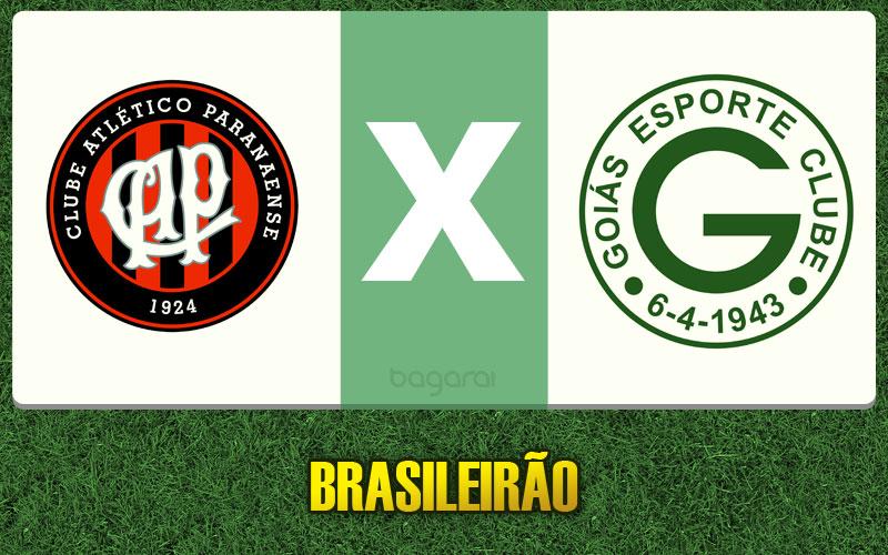 Goiás vence Atlético Paranaense pelo Brasileirão 2015