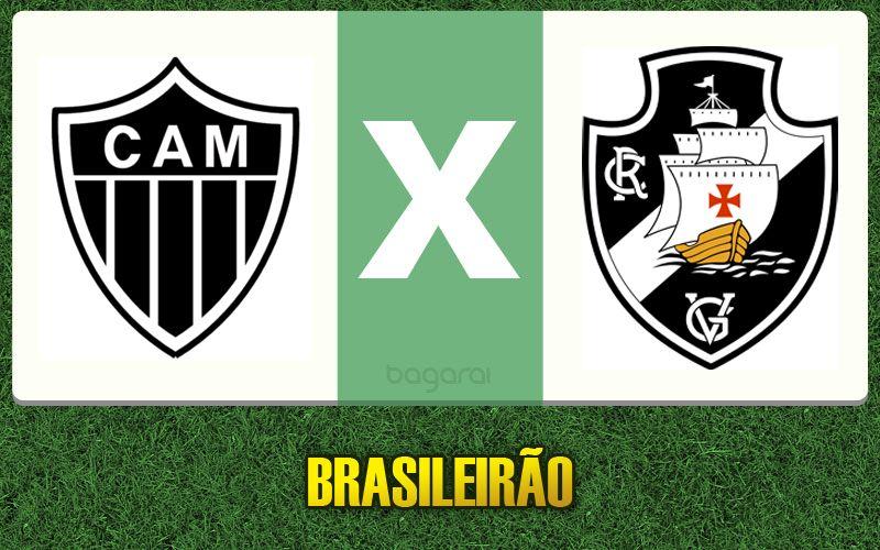 Atlético Mineiro vence Vasco da Gama pelo Campeonato Brasileiro 2015