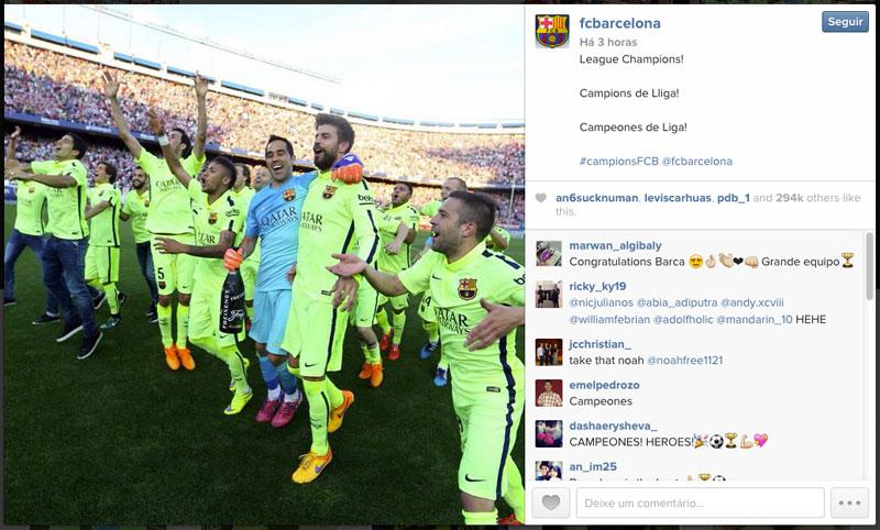 Barcelona é campeão do Campeonato Espanhol 2015