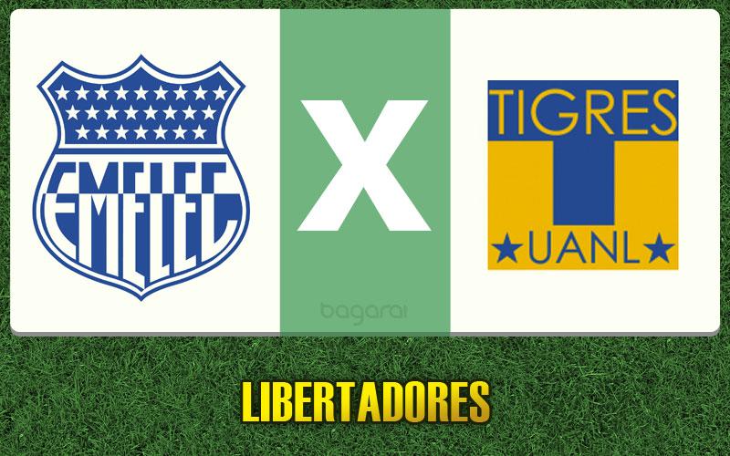 Emelec vence Tigres pela Libertadores 2015, resultado do jogo de hoje