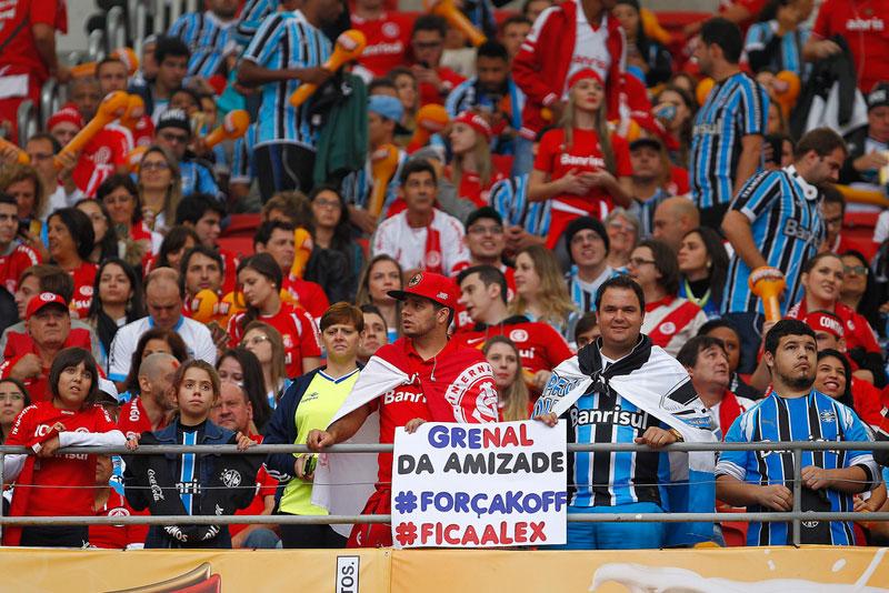 Torcida da partida entre Gremio e Internacional no Estadio Beira-Rio (FOTO: LUCAS UEBEL/GREMIO FBPA)