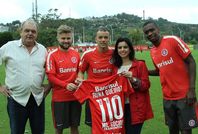 Sócio 110 mil do Inter ganha camisa especial