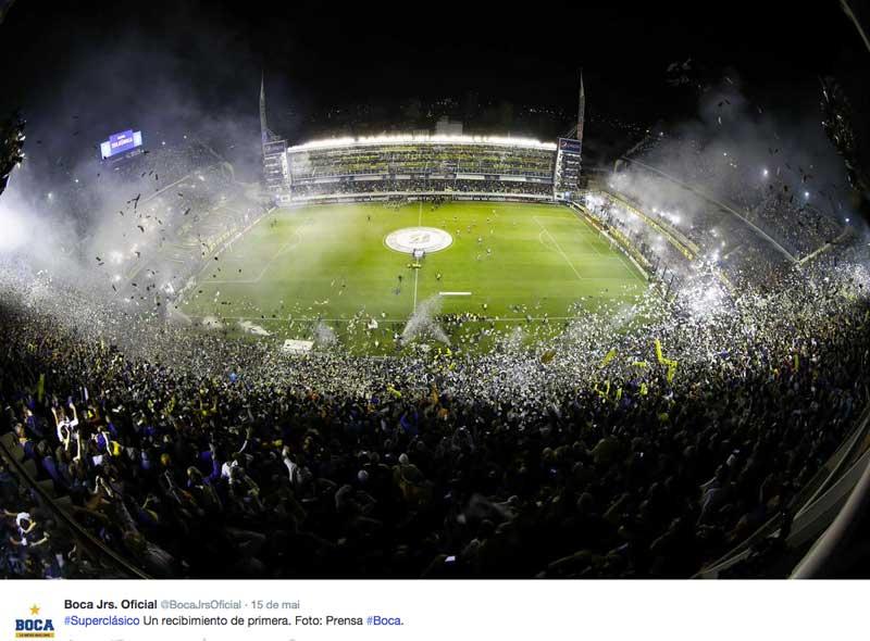 Libertadores 2015: Conmebol definirá adversário do Cruzeiro após incidente em jogo Boca Juniors x River Plate