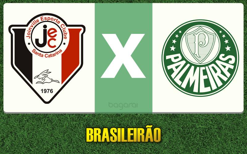 Resultado do jogo entre Joinville e Palmeiras ficou no 0 a 0 pelo Brasileirão 2015